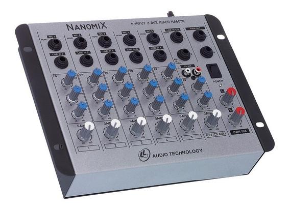 Mesa Mixer Nanomix Ll Na602r 6 Canais Bivolt