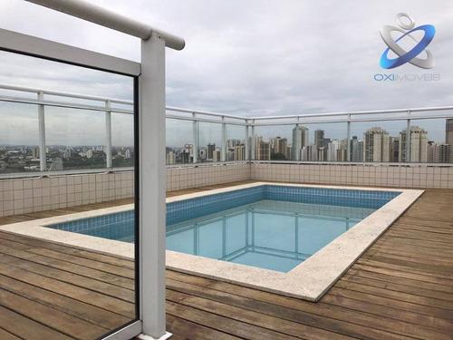 Cobertura Com 3 Dormitórios À Venda, 288 M² Por R$ 1.650.000,00 - Vila Ema - São José Dos Campos/sp - Co0033