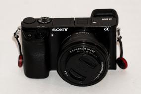 Câmera Sony Mirrorless 24mp Alpha 6000 - Apenas O Corpo