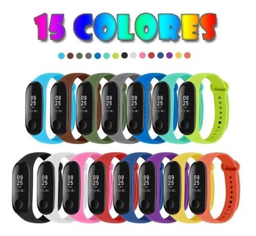 Correa De Repuesto Para Xiaomi Mi Band 3/4 Colores Variados