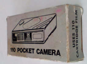 Camera Box Pocket 110 - Para Uso Filme Pelicula