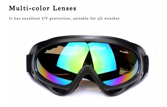 3 Óculos Multi Cores Jet Ski Motocross / Moto Cidade