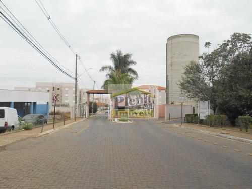 Apartamento Com 2 Dormitórios À Venda, 50 M² Por R$ 220.000 - Jardim Santa Maria (nova Veneza) - Sumaré/sp - Ap0959