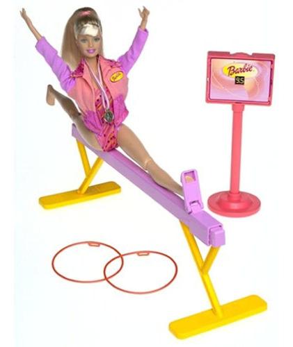 Juego De Barbie Girl Super Gymnast Play