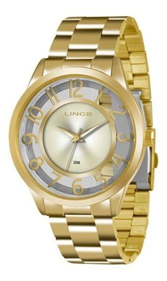 Relógio Lince Feminino Lrg4347l C2kx Nfe