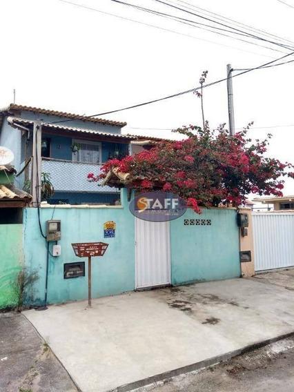 Casa Com 3 Dormitórios À Venda/aluguel, 100 M² Por R$ 350.000 - Unamar - Cabo Frio/rj - Ca1335