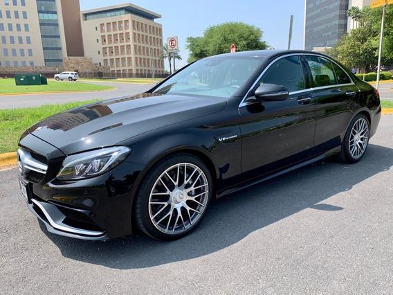 Mercedes Benz C 63 Amg Berlina 2018