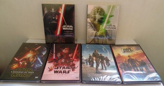 Dvd Star Wars Coleção 10 Filmes - Originais Novos Lacrados