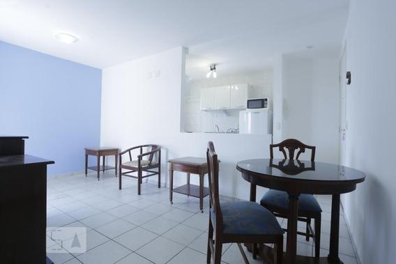 Apartamento No 13º Andar Com 1 Dormitório E 1 Garagem - Id: 892962136 - 262136