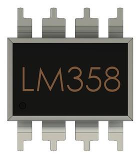 3 Pzas Lm358 Amplificador
