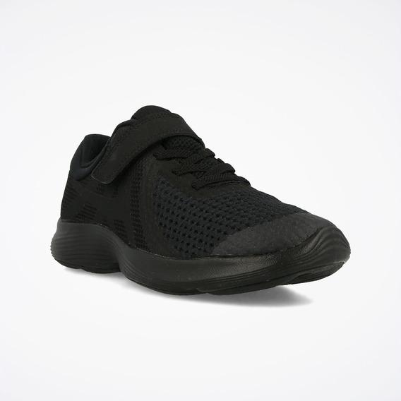 Tenis Nike Revolution 4 Negro Niño
