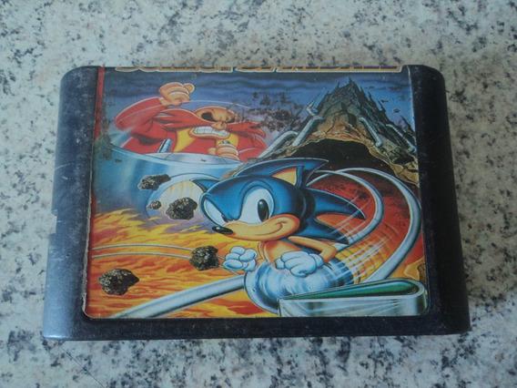 Fita Para Mega Drive Sonic Spinball