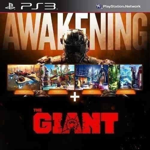 Ps3 - Dlcs* The Giant + Awakening Para Cod Bo3