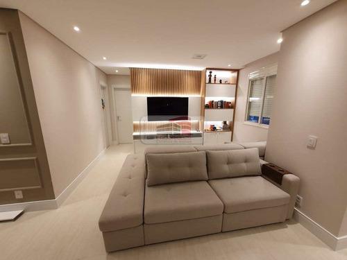 Apartamento Com 3 Dorms, Campestre, Santo André - R$ 760 Mil, Cod: 1600 - V1600