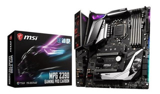 Placa Madre Msi Mpg Z390 Gaming Pro Carbon