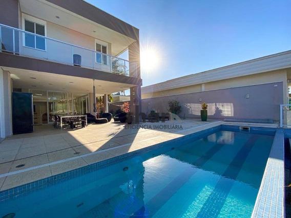 Casa Com 4 Dormitórios À Venda, 935 M² Por R$ 6.000.000,00 - Jardim Passargada D - Cotia/sp - Ca0208