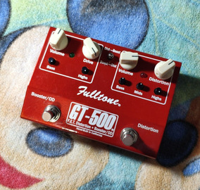 Fulltone Gt-500 F.e.t. Distortion + Booster / Od - Willaudio