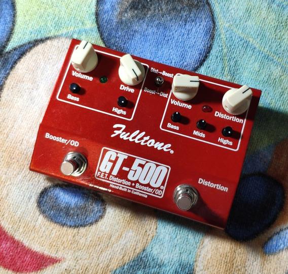 Fulltone Gt-500 F.e.t. Distortion + Booster / Od - Willaudio