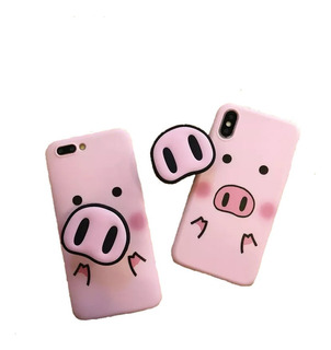 Capinha Porquinho Pig Para Samsung
