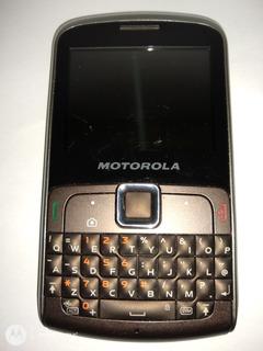 Telefone Smart Motorola Ex115 Usado Ideal Para Colecionador