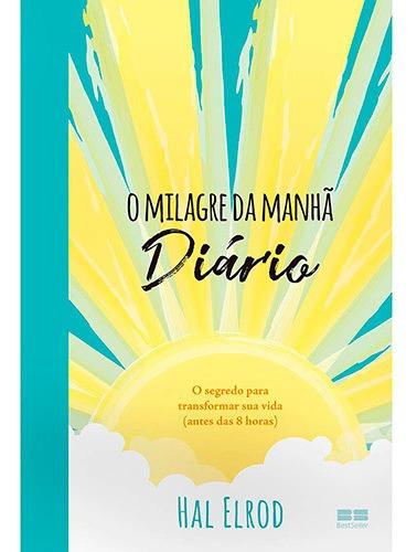 O Milagre Da Manhã - Livro Físico, Lacrado - Envio Imediato