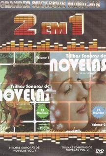 Dvd 2 Em 1 Trilha Sonoras De Novelas - Vol. 1 E 2 - Novo***