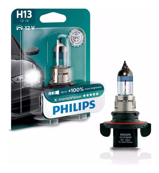 Lampada Philips X-treme Vision H13 Automotiva 12v 55w