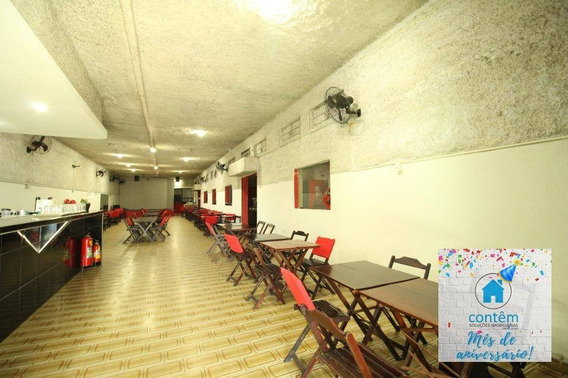 Sl0015 - Salão Para Alugar, 518 M² Por R$ 8.500/mês - Km 18 - Osasco/sp - Sl0015