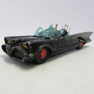 Corgi Toys Batmobile Com Batman E Robin Sem Caixa Jorgetrens