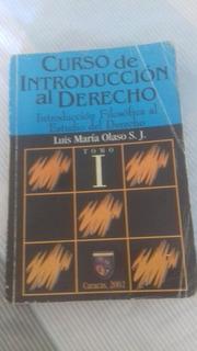 Libro Curso De Introducción Al Derecho
