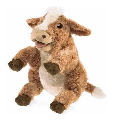 Fantoche Importado Vaca Folkmanis