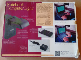Luminária Notebook Oldschool