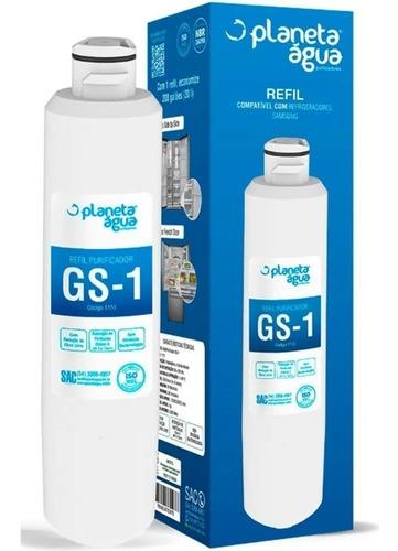 Imagem 1 de 4 de Refil Filtro Água Gs-1 Geladeira Haf-cin/exp Da29-00020b