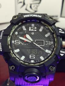 Relógio Estilo G-shock Pretorian Combate Wprt-08-1 Nfe