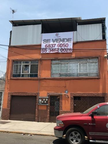 Venta De Casa Colonia Industrial Para Remodelar Con Local Comercial