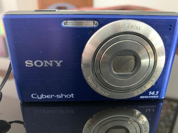 Câmera Fotográfica Sony Cyber-shot Dsc-w350 14.0mp 4x Zoom