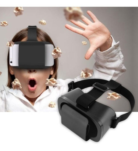 3d Gafas Vr Caja Auriculares Google Cartón Realidad Virtual