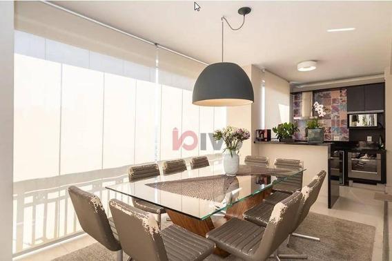 Apartamento Comprar 4 Quartos, 238 M² Úteis Por R$ 3.600.000 - Brooklin -sp - Ap2320