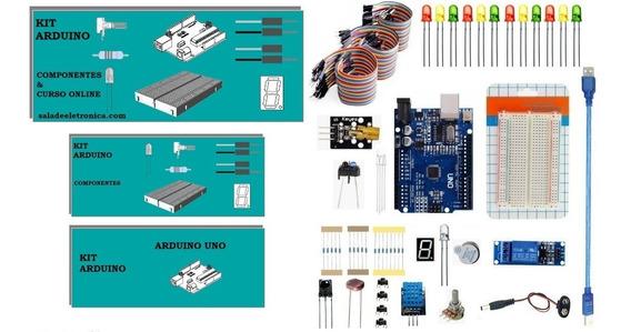 Kit Arduino Componentes Curso Com Práticas On Line Maker