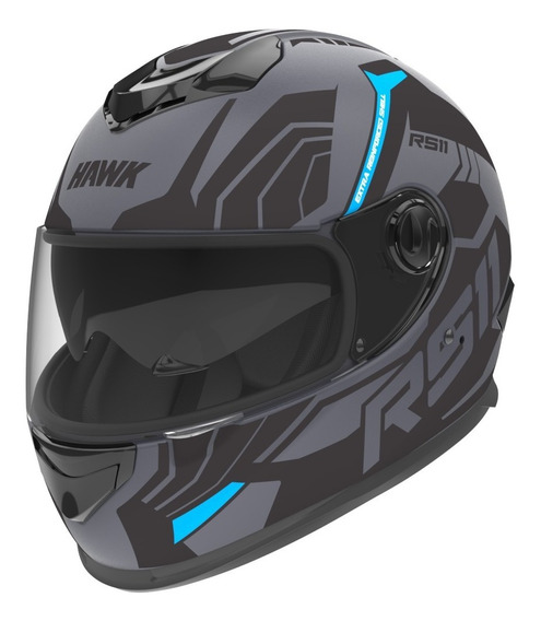 Casco Moto Hawk Rs11f Integral Doble Visor Tienda Oficial