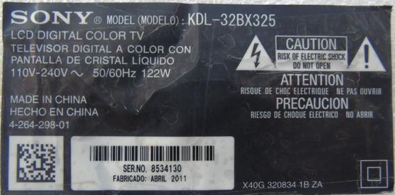 Par De Alto Falantes Sony Kdl-32bx325