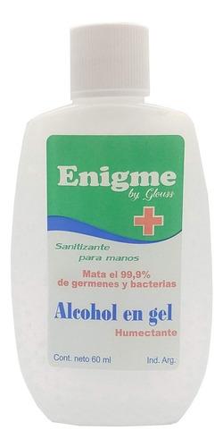 Imagen 1 de 3 de Alcohol Gel 60ml X 5 Un. Antibacterial Anmat