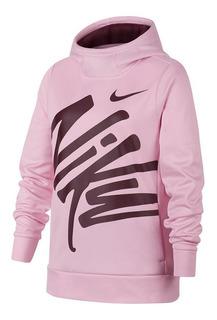 Blusa De Frio Com Capuz Infantil Menina Nike Hood Po Therma