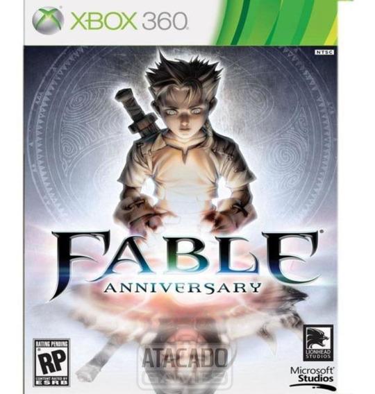 Fable Anniversary - Midia Digital - Xbox 360 Bloqueado Tmbm