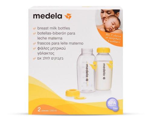 Frasco / Recipiente Para Leite Materno 250ml C/2 Medela