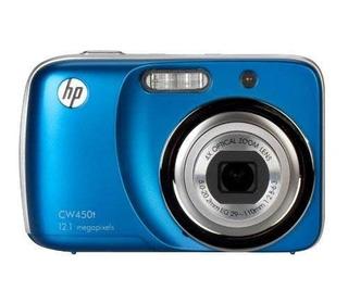 Hp Cw450t 12mp Cámara Digital Con Zoom Óptico De 4x Y Visu