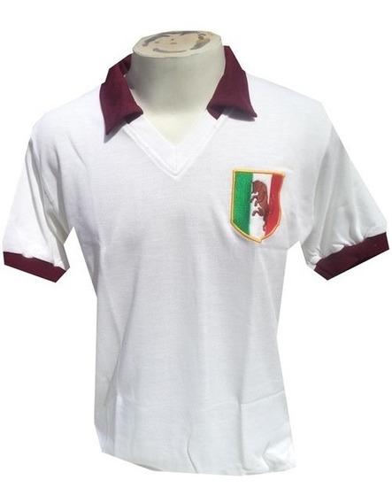Camisa Retrô Torino Branca 1980