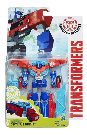 Transformers: Robots In Disguise Warrior Class Optimus Prime