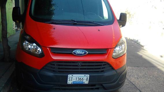 Ford Transit 2.2 Van Larga Techo Alto Aa Custom Mt 2017