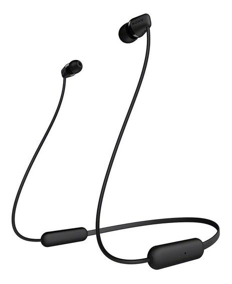 Fone de ouvido sem fio Sony WI-C200 black